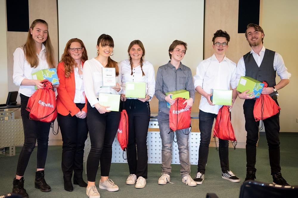 Zuider Gymnasium wint Nationale Sci-Tech Challenge 2019