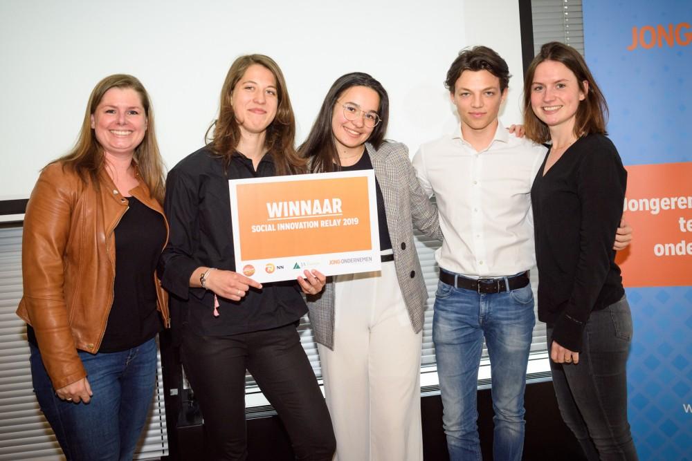Leerlingen Keizer Karel College winnen Social Innovation Relay 2019