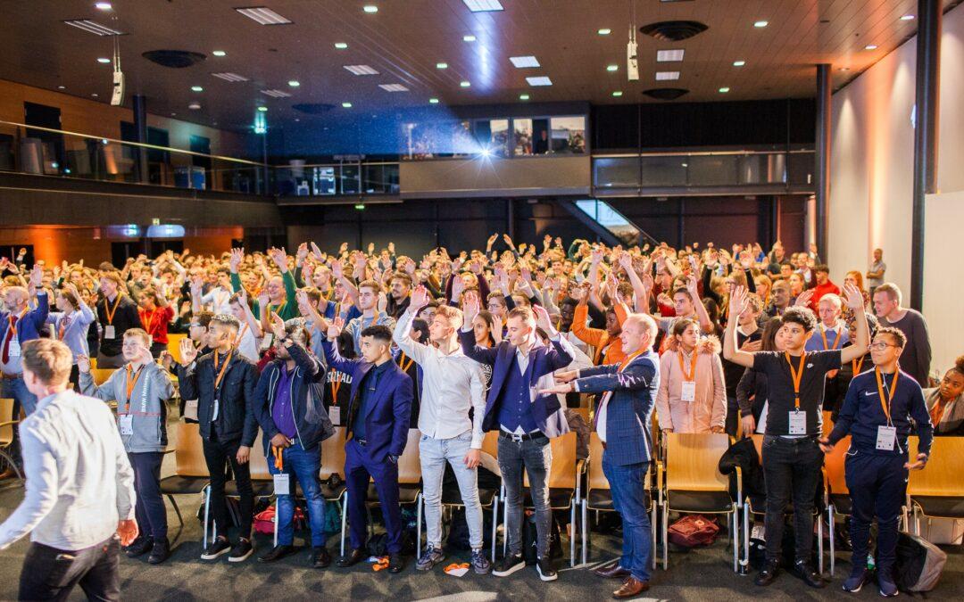 Ruim 1200 jongeren bezoeken Start-up Festival in Ahoy
