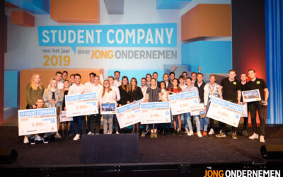 Dit zijn de beste studentondernemers van 2019