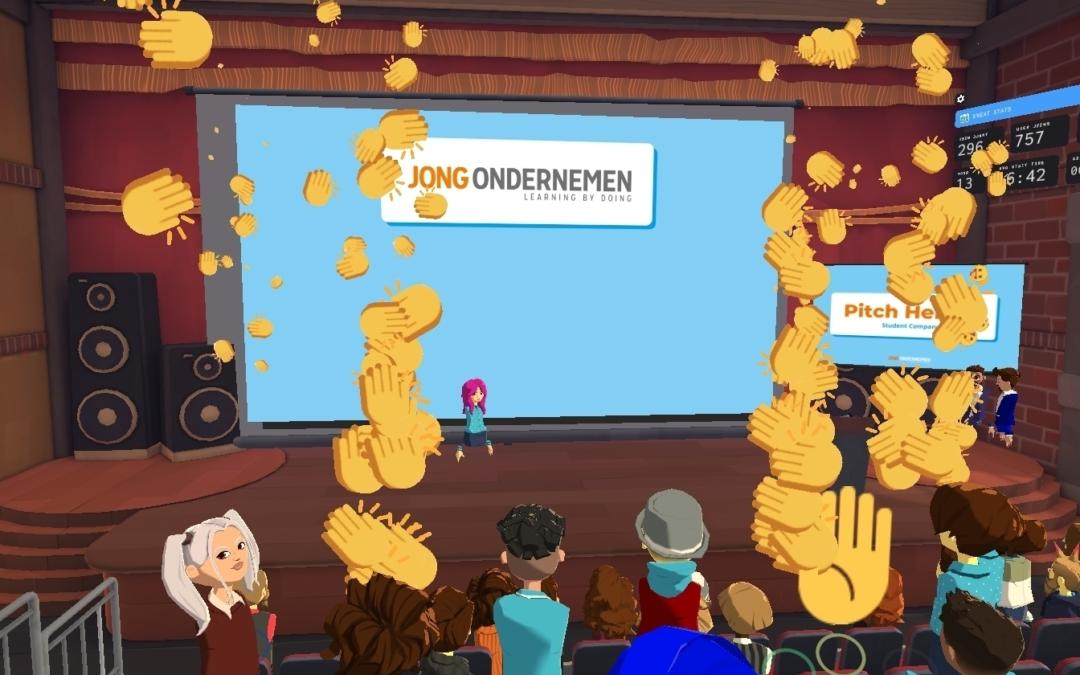 Repads en LunchrVerpakkingen winnaars VR-event Pitch Heroes