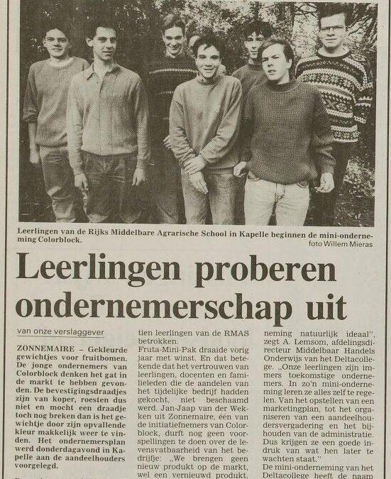 1991-1992 Jan Jaap van der Wekken
